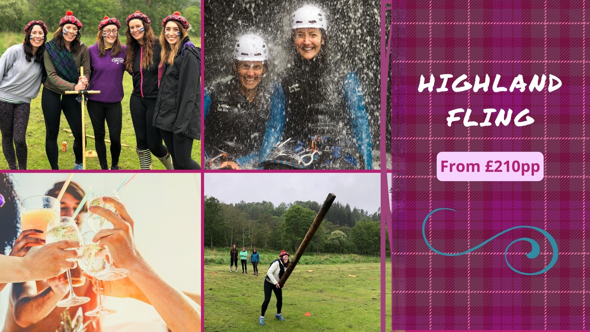 Highland Fling Hen Party