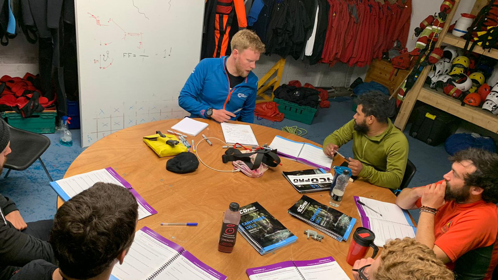 ICO Pro Canyoning Training