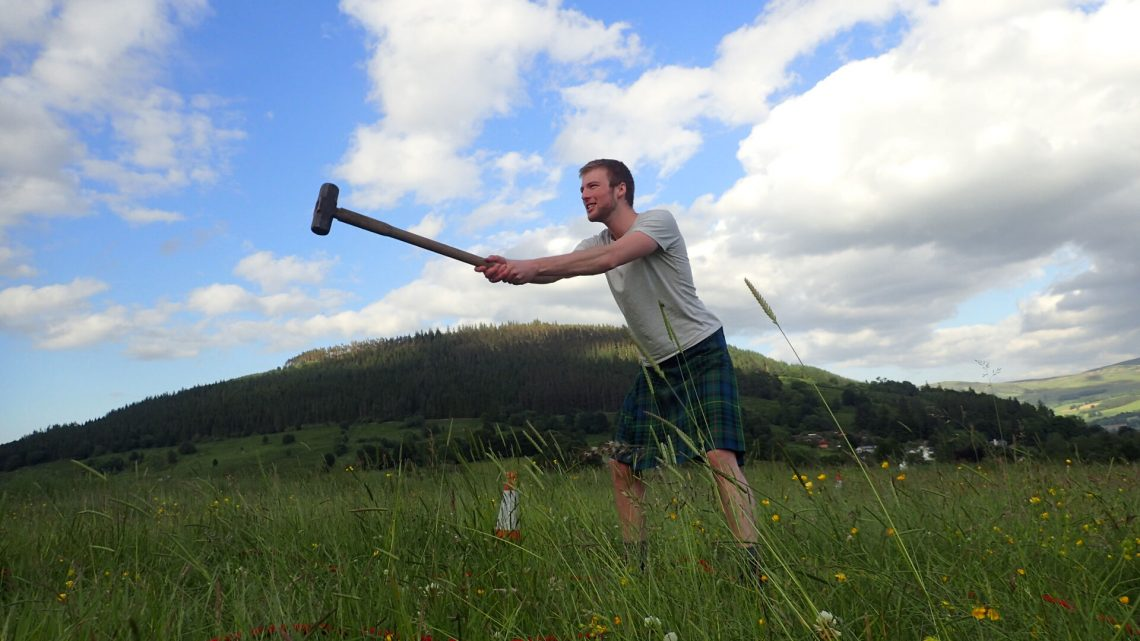 Highland stag weekend Highland games