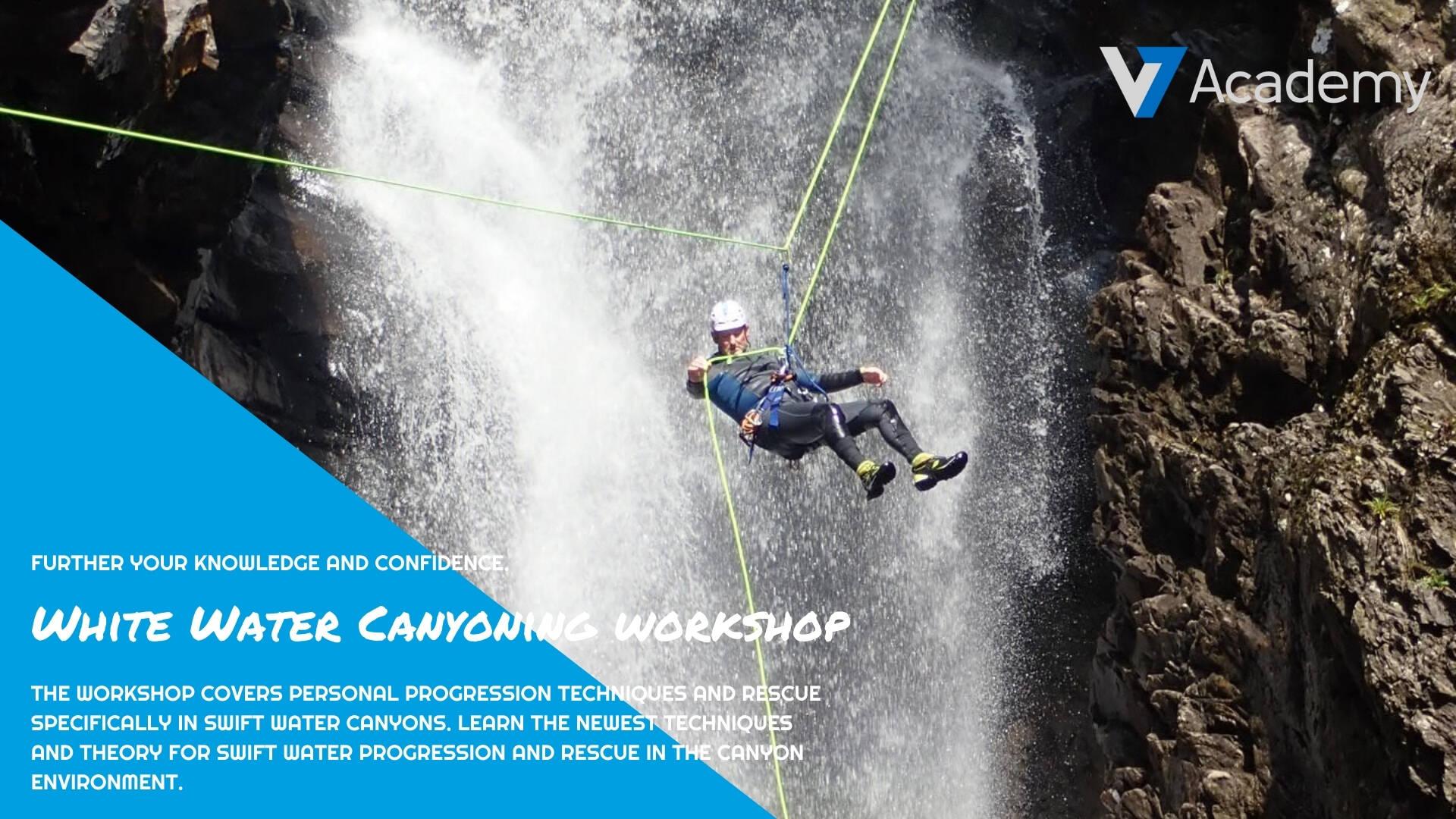 white water canyoning workshop