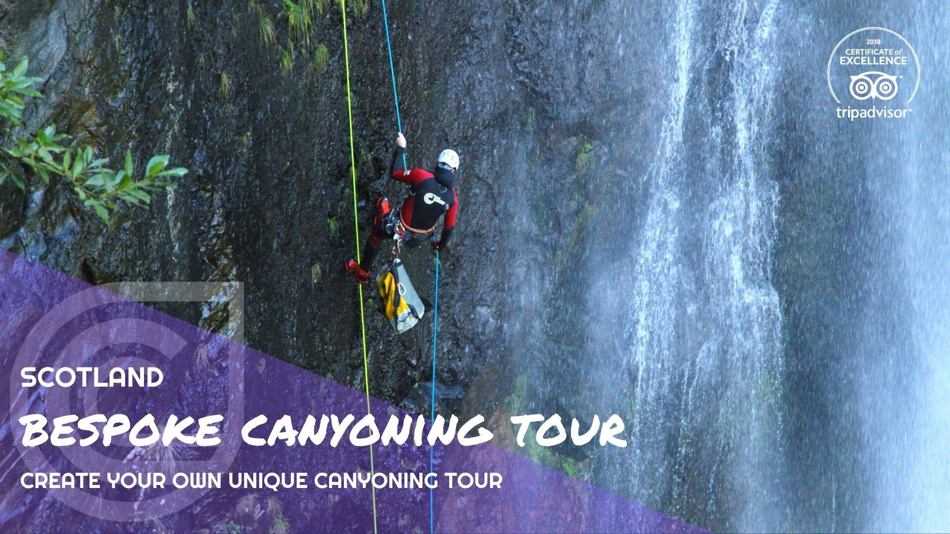 Bespoke Canyoning Tour