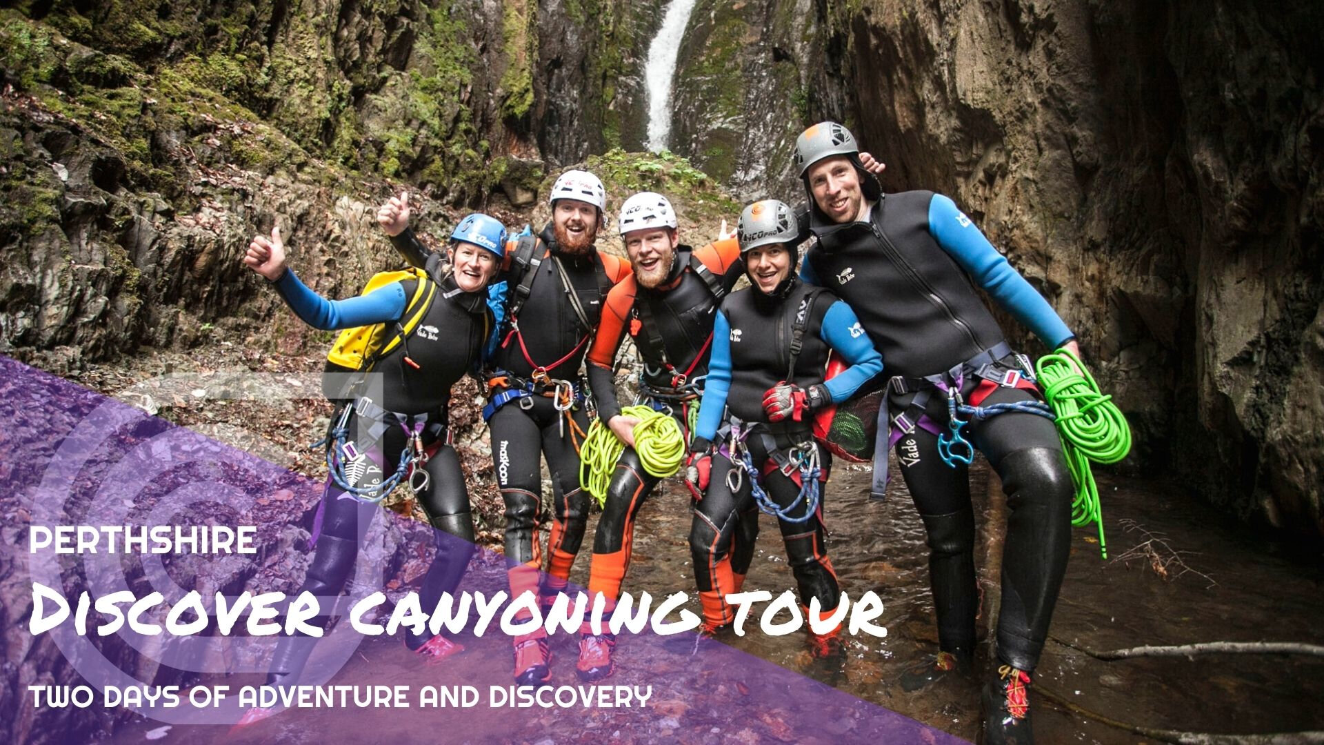 Discover Canyoning Tour - Perthshire
