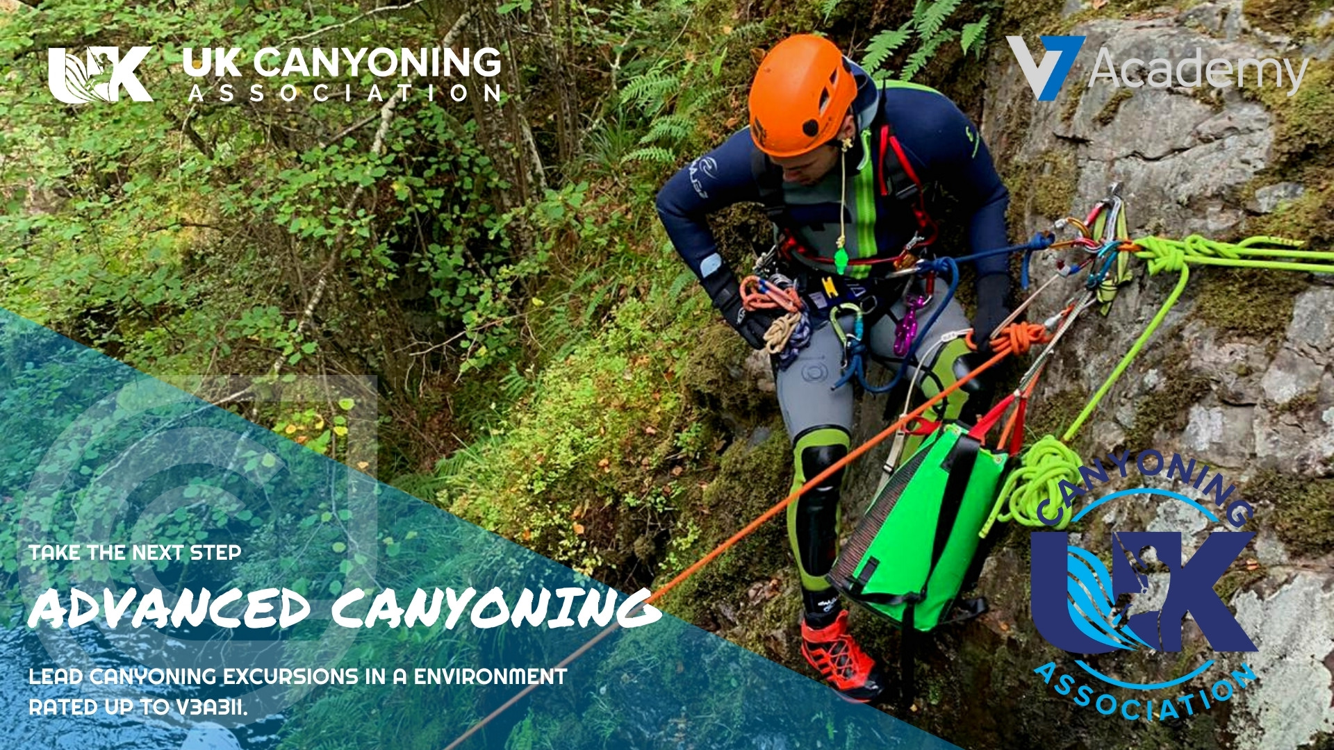 advanced canyon leader training course